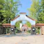 Burgstädt, Friedhofskapelle und Friedhofstor
