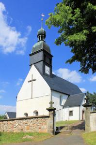 Ev. Pfarrkirche in Burkersdorf