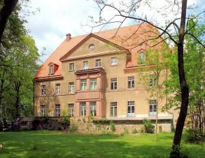 Schloss Cavertitz, Parkseite