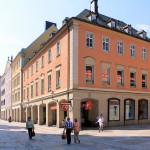 Wohnbebauung an der Inneren Klosterstraße in Chemnitz