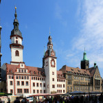 Altes und Neues Rathaus Chemnitz