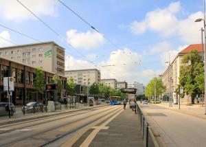 Wohnbebauung Straße der Nationen in Chemnitz