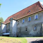 Rittergut Colmnitz, Herrenhaus, Parkseite