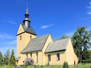 Crossen, Ev. Pfarrkirche Niedercrossen