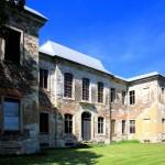 Schloss Dahlen, Parkseite (Zustand August 2012)