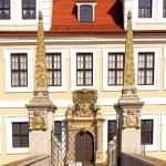 Schloss Delitzsch, Portal