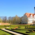 Schloss Delitzsch, Schloss und Schlossgarten