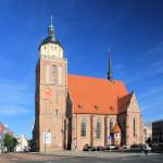 Dessau, Schloss- und Stadtpfarrkirche St. Marien