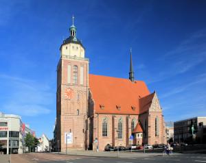 Dessau, ehem. Schloss- und Stadtpfarrkirche St. Marien