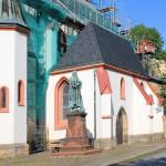 Döbeln, Ev. Nicolaikirche, Lutherdenkmal