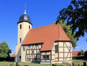 Ev. Pfarrkirche Döbrichau (Gde. Beilrode)