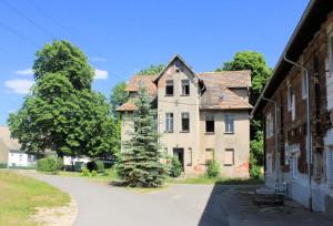 Dommitzsch, Rittergut Commende, Herrenhaus