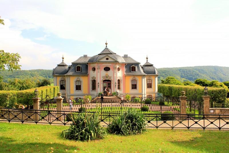 07774 Dornburg Camburg rokokoschloss dornburg neues schloss bei jena saale holzland