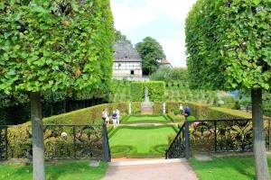 Garten am Rokokoschloss Dornburg