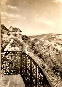 Altes Schloss Dornburg, Postkarte Ende 1960er Jahre