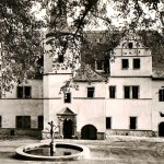 Renaissanceschloss Dornburg, Kaminzimmer, Postkarte um 1970