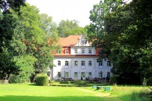 Dornreichenbach, Herrenhaus, Parkseite