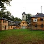 Jagdschloss Wilhelmsthal, östlicher Abschluss