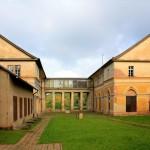Jagdschloss Wilhelmsthal, westlicher Abschluss