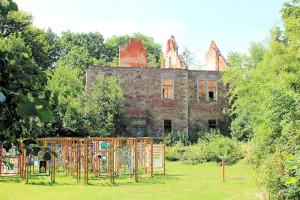 Rittergut Ehrenberg, Ruine des Herrenhauses