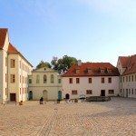 Schloss Christiansburg, Schlosshof