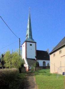 Elsdorf, Ev. Pfarrkirche Oberelsdorf