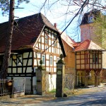 Elstertrebnitz, Rittergut Obern Teils