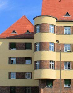Wohnbauten an der Thaerstraße in Eutritzsch