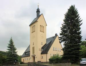 Falkenau, Ev. Pfarrkirche