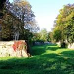 Schloss Friedrichswerth, Graben der Burg