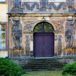 Schloss Friedrichswerth, Portal