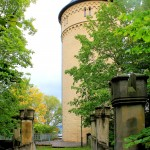 Gera. Schloss Osterstein, Bergfried und Wolfsbrücke