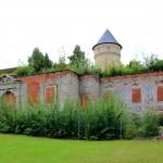 Gera, Schloss Osterstein, Ruine des Haupttores zum Oberschloss