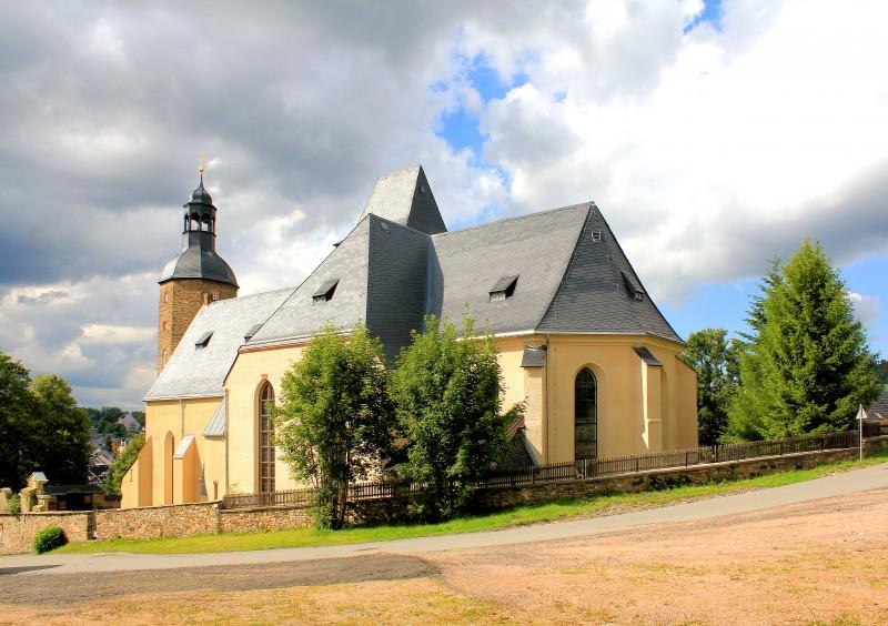 Kirche Geyer