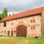 Rittergut Gnandstein, Scheune