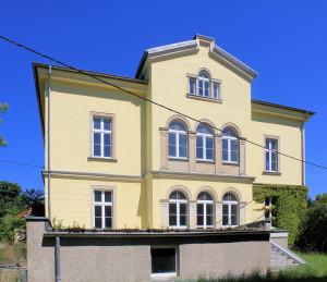 Rittergut Görlitz, Herrenhaus, Parkseite