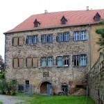 Schloss Goseck, Westansicht
