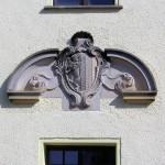 Rittergut Graßdorf, Wappen am Herrenhaus