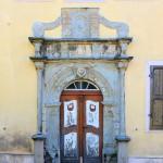 Rittergut Greitschütz, Portal des Herrenhauses