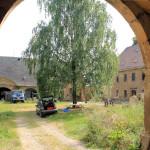 Stadtgut Greußnig, Hof mit Herrenhaus