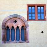 Schloss Grimma, Fenster an der Nordseite