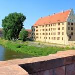 Schloss Grimma, Ansicht von Nordosten