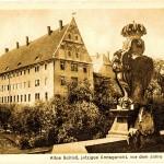 Schloss Grimma, Postkarte (Jahr unbekannt)