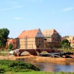 Schloss Grimma, Ansicht von Nordosten, Zustand August 2010