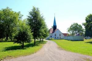 Großzössen, Gutskirche des Rittergutes