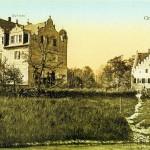 Rittergut Großzschocher, Herrenhaus um 1910