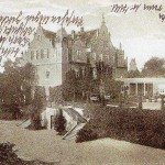Rittergut Großzschocher, Herrenhaus um 1914