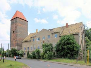 Rittergut Gruna, Herrenhaus und Wendenturm