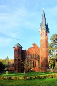 Dessau-Roßlau, Jagdschloss Haideburg
