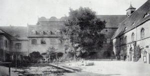 Hof der Neuen Residenz um 1890